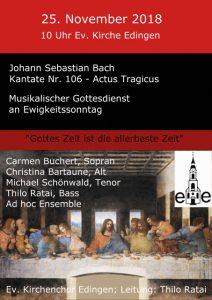 actus tragicus Bach