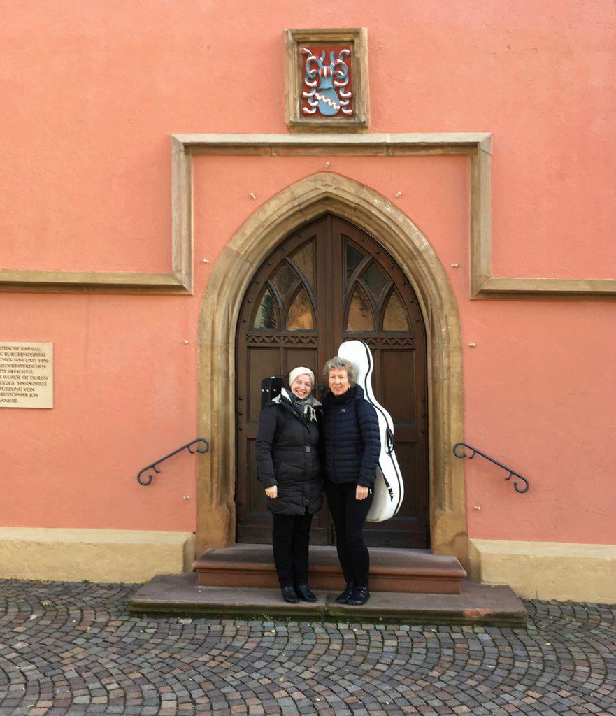 Duo Caloroso Spitalkapelle Deidesheim, Weinstraße